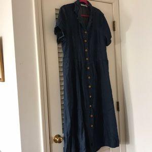 Comfy Denim dress size 1X .